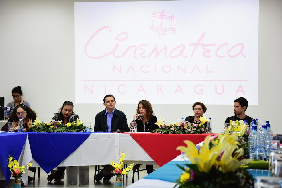 Anuncio de la incorporación de Nicaragua en el Programa Ibermedia. Managua, 12 de diciembre de 2017.